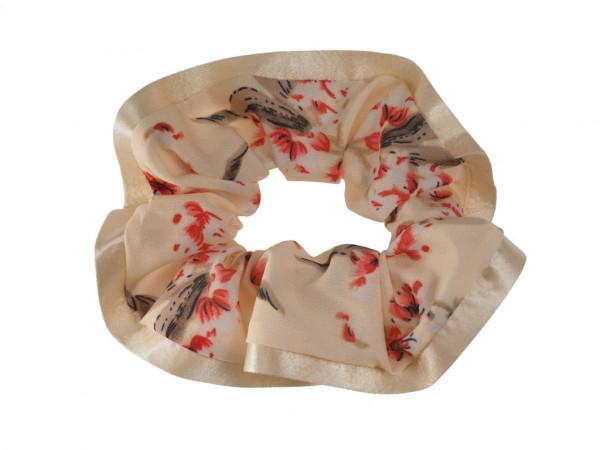 Scrunchie Sakura creme