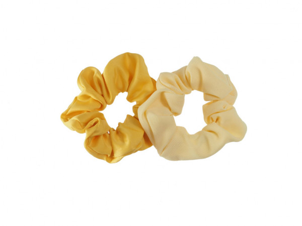 Scrunchies Flavia gelb