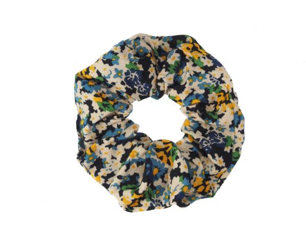 Scrunchie Floraline blau