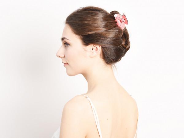 Haarklammer Fanny rosé