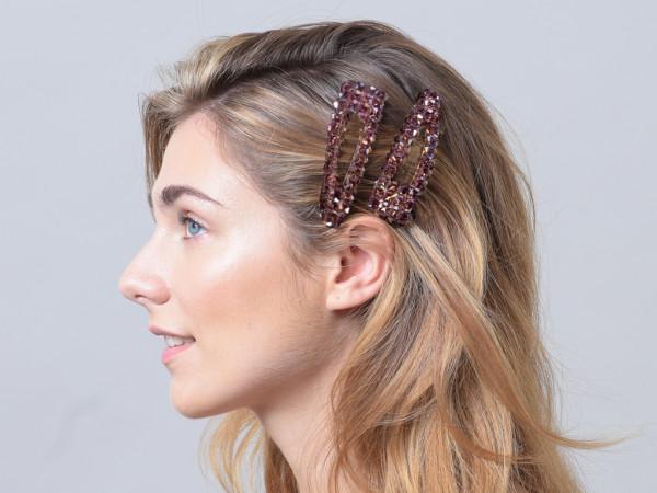 Haarspange Rubia violett