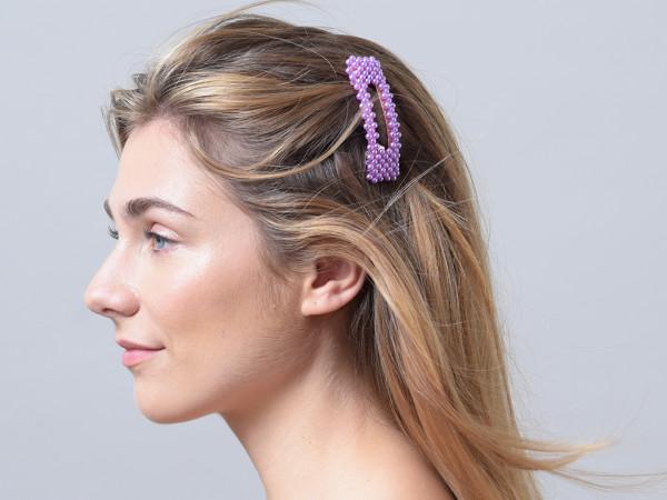 Haarspange Rabea lila