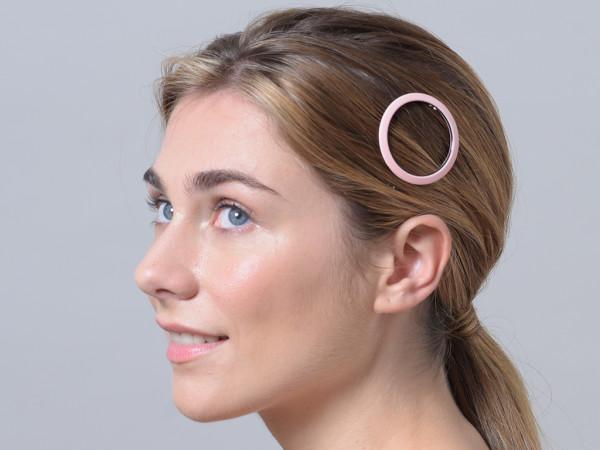 Haarspange Jacky rosa