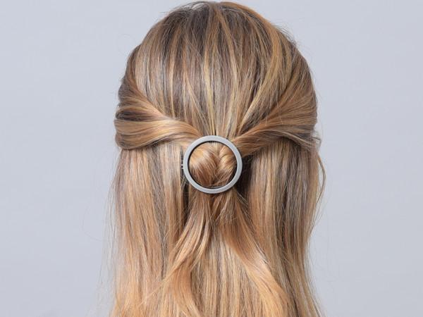 Haarspange Jacky grau