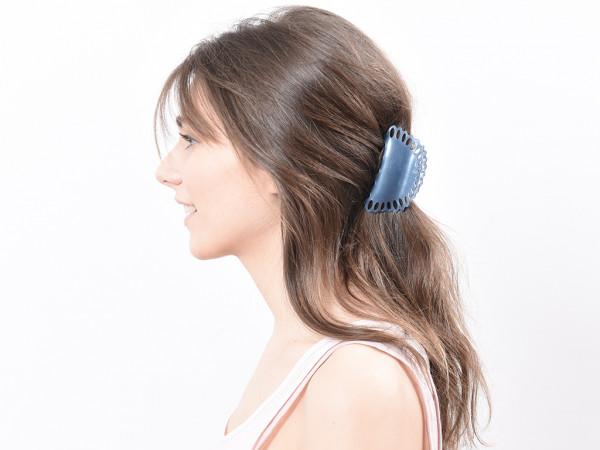 Haarklammer Aurelia graublau