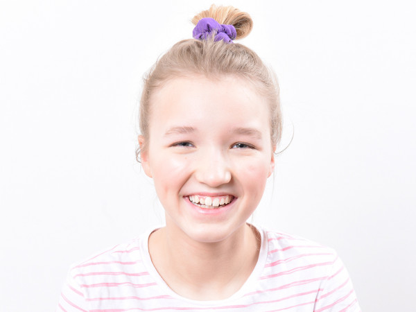 Scrunchie Holly violett