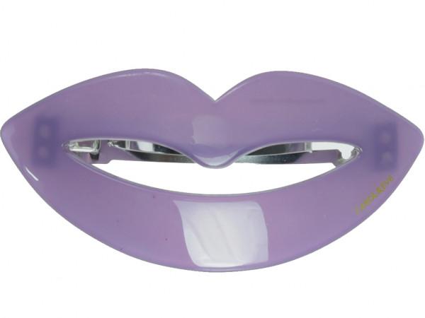 Haarspange Kiss violett