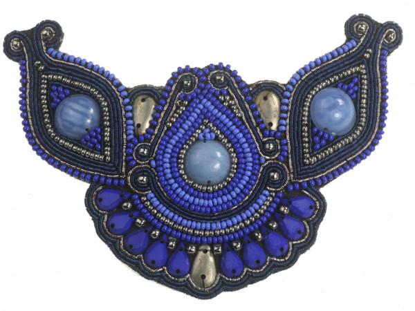 Leyla blau-silber