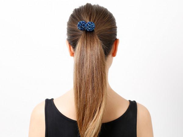 Haargummi Claire blau