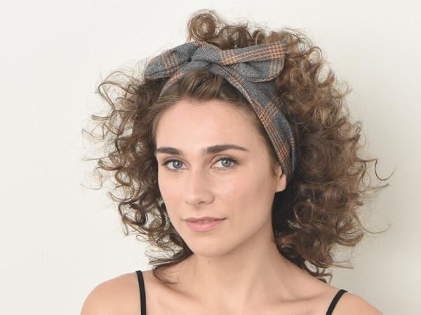 Haarband Marlene grau